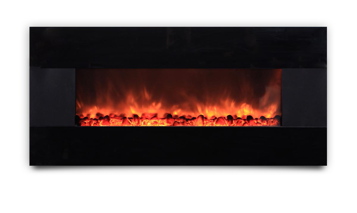 AMBIONAIR FLAME - Wall-Mounted Fireplace (EF-1100 HBM)