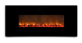 AMBIONAIR FLAME - Wall-Mounted Fireplace (EF-1100 BGC)