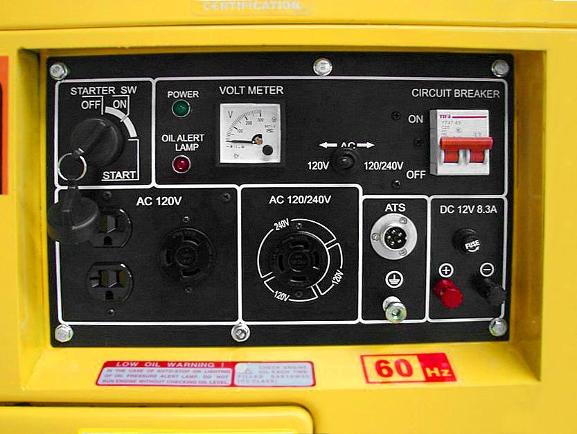 AMBIONAIR GEN - Generator (TDG7500SE)
