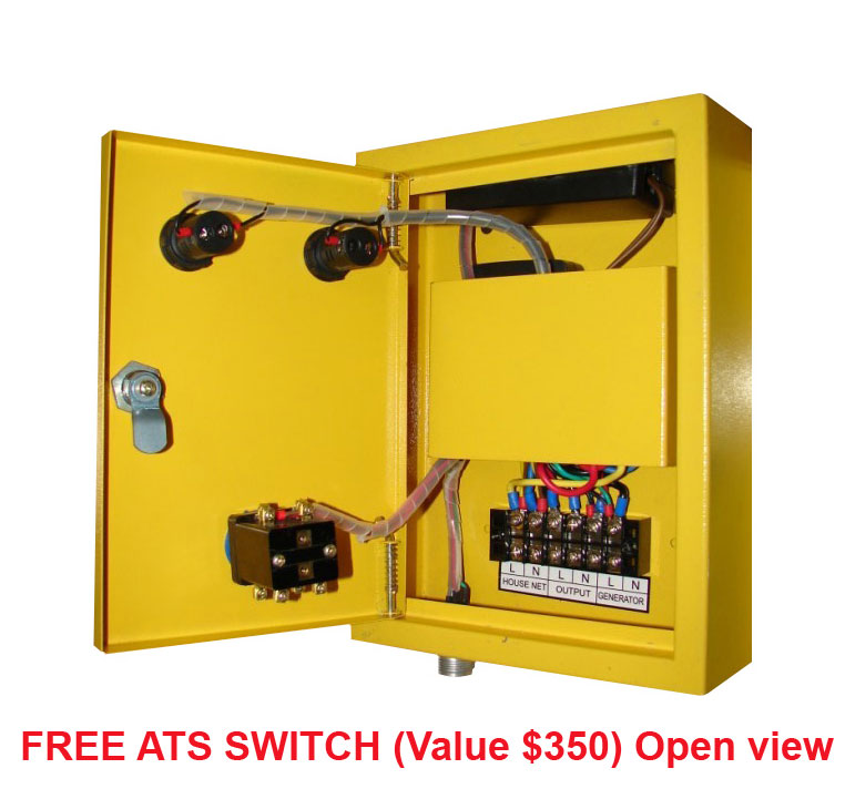 AMBIONAIR GEN - Generator (TDG7500SE) FREE ATS SWITCH (Value $350)