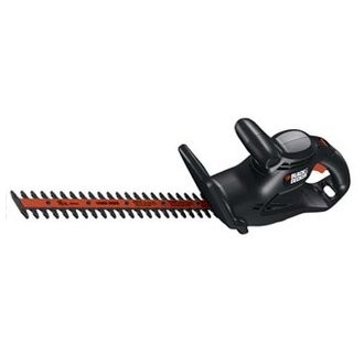 "Black and Decker 16"" Electric Hedge Trimmer with Lock On / Off Switch and Cord Retention - TR016"