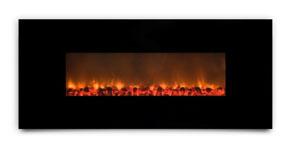 AMBIONAIR FLAME - Wall-Mounted Fireplace (EF-1100 BGC)