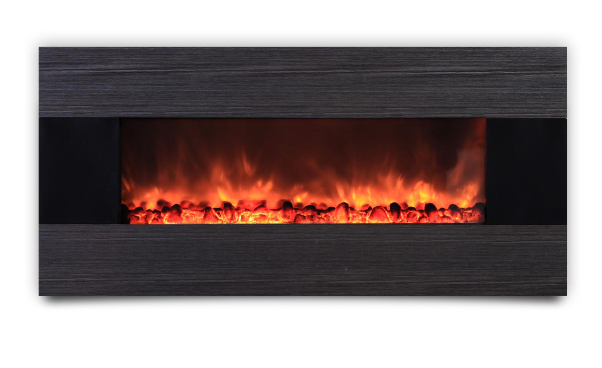 AMBIONAIR FLAME - Wall-Mounted Fireplace (EF-1100 YGT)