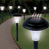 "Trademark Global 13.5"" High Cordless Solar Accent Lawn Lights - 82-5629"