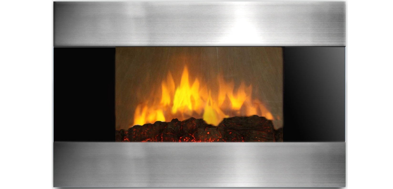 AmbionAir Flame 36 Electric Wall Mount Fireplace EF 1510 SL